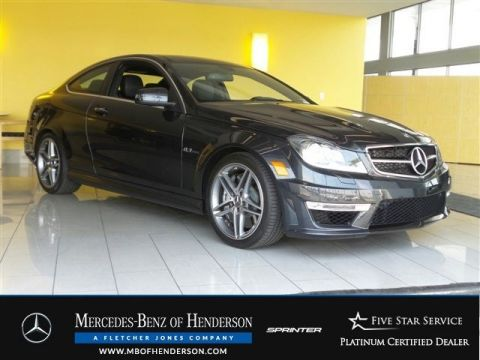 Certified Used Mercedes-Benz C-Class C63 AMG