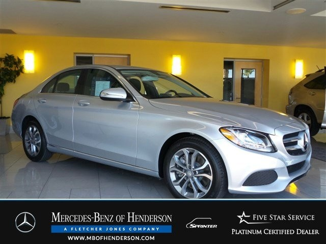 Certified Pre-Owned 2015 Mercedes-Benz C-Class C300 Rear Wheel Drive Sedan