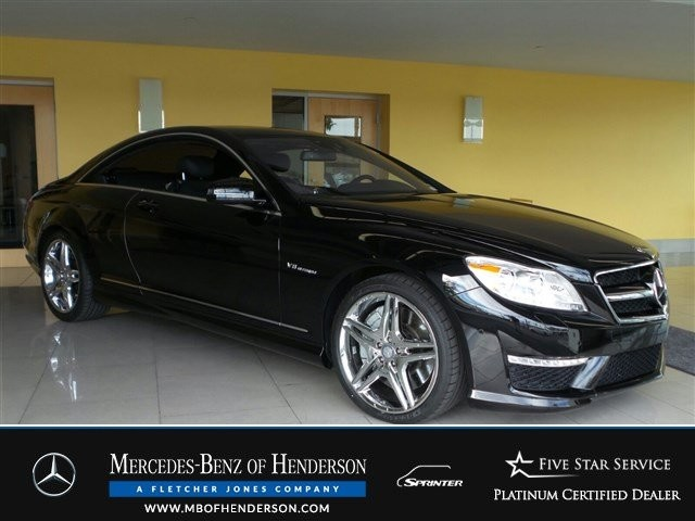 Certified Pre-Owned 2012 Mercedes-Benz CL-Class CL63 AMG Rear Wheel Drive Coupe