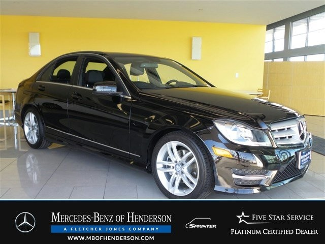 Certified Pre-Owned 2013 Mercedes-Benz C-Class C250 Sport Rear Wheel Drive Sedan