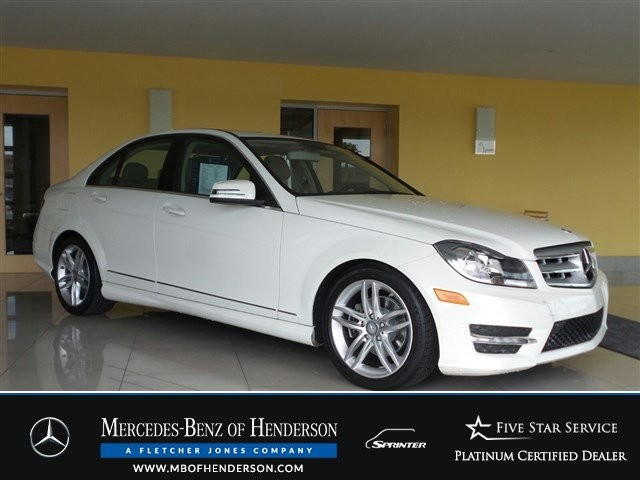 Certified Pre-Owned 2012 Mercedes-Benz C-Class C300 Sport All Wheel Drive Sedan