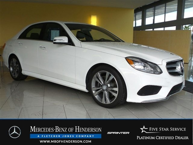 Certified Pre-Owned 2016 Mercedes-Benz E-Class E350 Sport Rear Wheel Drive Sedan