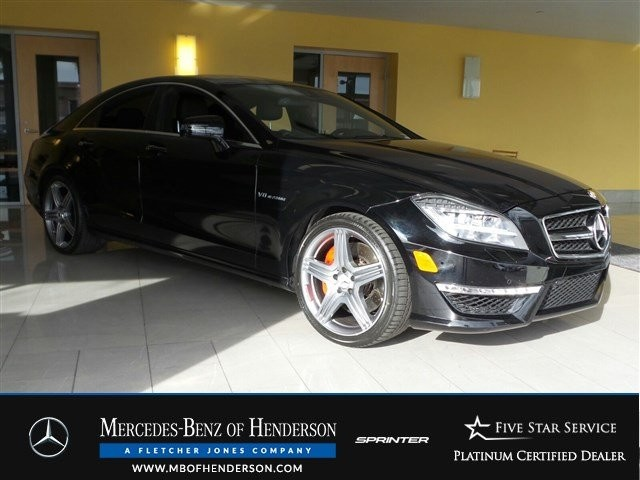 Certified Pre-Owned 2013 Mercedes-Benz CLS CLS63 AMG Rear Wheel Drive Sedan