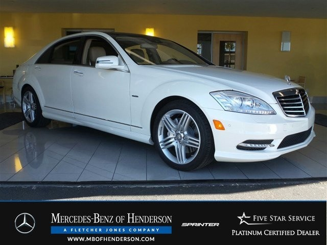 Certified Used Mercedes-Benz S-Class S550