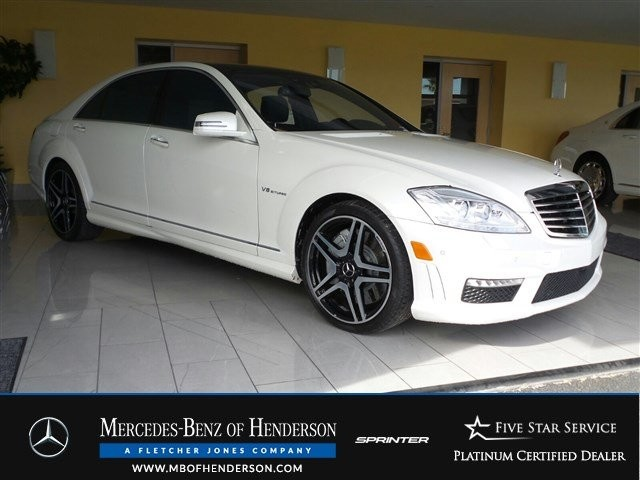 Certified Pre-Owned 2012 Mercedes-Benz S-Class S63 AMG Rear Wheel Drive Sedan