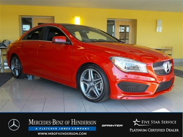 Certified Pre-Owned 2015 Mercedes-Benz CLA CLA250 Front Wheel Drive Sedan